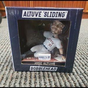 Houston Astros Jose Altuve Sliding Bobblehead corp